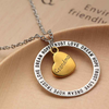 Image of Grandma Dream Hope Love Trust Pendant Necklace