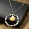 Image of Sister Dream Hope Love Trust Pendant Necklace