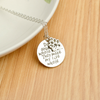 Image of Dogs aren't my whole life... They make my life whole! - Dog Lovers Paw Print Necklace
