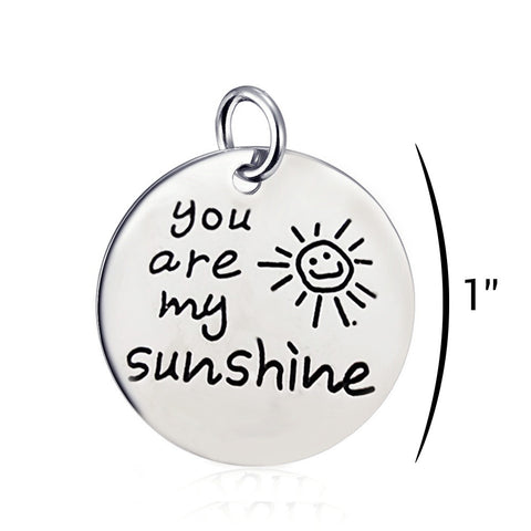You Are My Sunshine - Personalized Necklace Pendant Jewelry