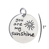 Image of You Are My Sunshine - Personalized Necklace Pendant Jewelry