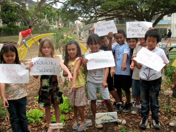 Kids at the Kokua Hawaii Project