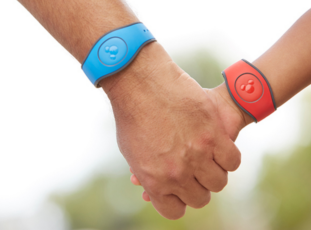 Holding hands with MagicBands