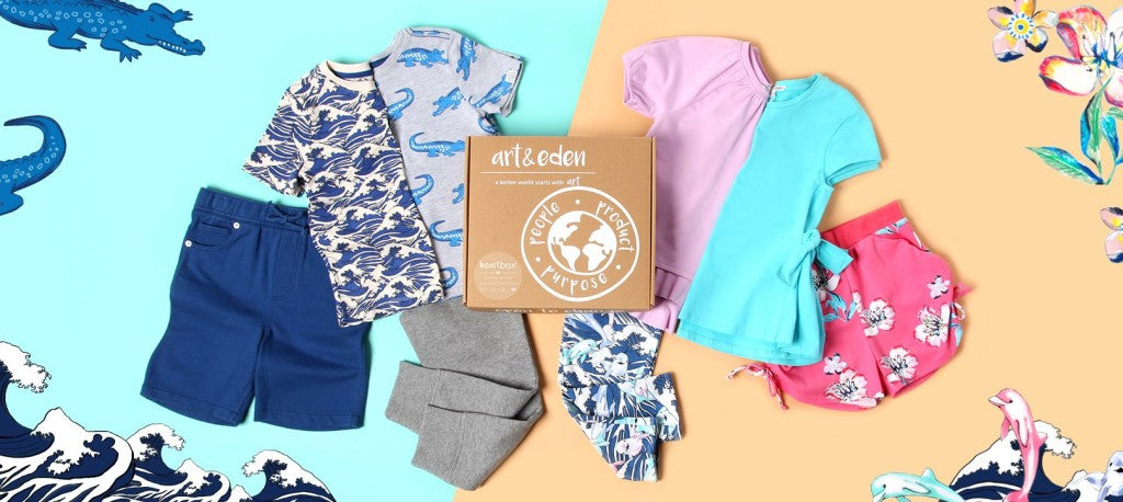 Peace Love organic Mom & art & eden giveaway