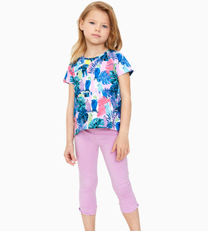 Makayla Capri Legging - Organic Girls Clothes