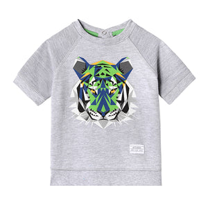 Mini Aiden Crew Neck - Organic Baby Boy Clothes