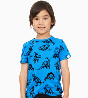 Hunter Dino T-shirt - Organic Boys Clothes