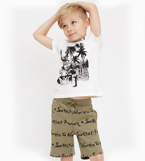 Levi Shorts - Organic Boys Clothes
