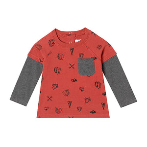 Mini Sam T-shirt - Organic Baby Boy Clothes
