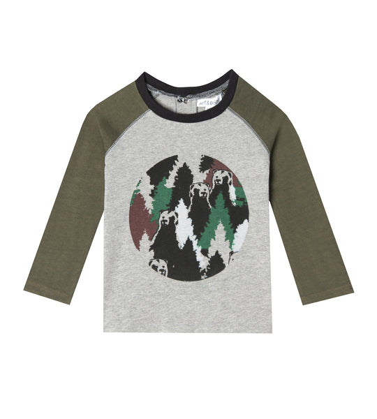 Mini Ethan Raglan T-shirt at Art & Eden