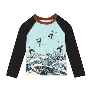Mini Ethan Raglan T-shirt - Sale Baby Boys
