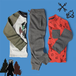 The Great Outdoors heartbox - Organic Boys Clothes