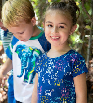 Yayoi Dress - Organic Girls Dresses