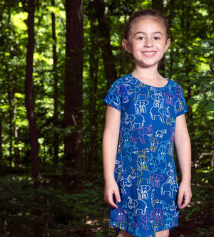 YAYOI DRESS - Organic Girls Clothes