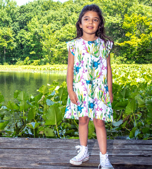 REAGAN DRESS - Organic Girls Clothes