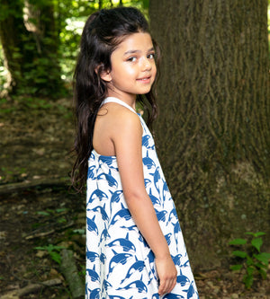 Marine Dress - Organic Girls Clothes