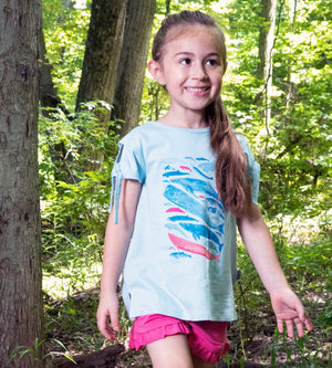RILEY TEE - Organic Girls Clothes