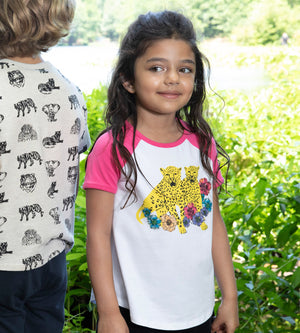 WILD TEE - Organic Girls Clothes