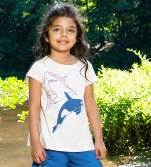 Oasis Tee - Organic Girls Clothes