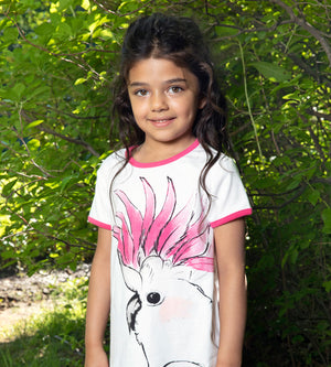 Amazonian Tee - Organic Girls Clothes