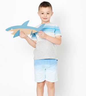 Ombre Short - Organic Boys Clothes