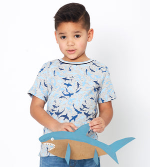 Damien T-shirt - Organic Boys Clothes