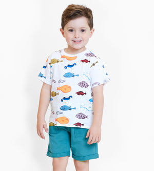 Bermuda Short - Organic Boys Clothes