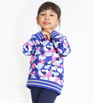 Sienna Sweatshirt - Organic Girls Sweatshirts & Jackets