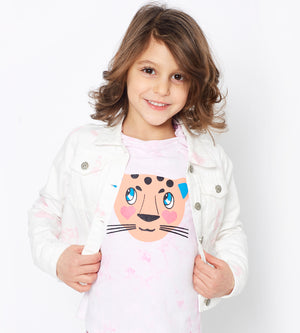 Priya Washed Jacket - Organic Girls Sweatshirts & Jackets