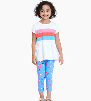 Valeri Capri - Organic Girls Leggings & Sweatpants
