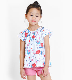 Katrina Tee - Organic Girls Tops & T-Shirts