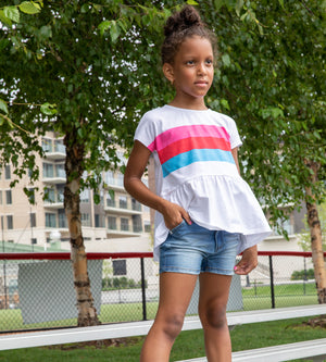 Harmony Short - Organic Girl Shorts & Skirts