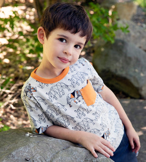 ZANE T-SHIRT - Organic Boys Clothes