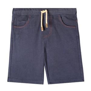 Mini Dark Wash Shorts - Organic Baby Boy Shorts