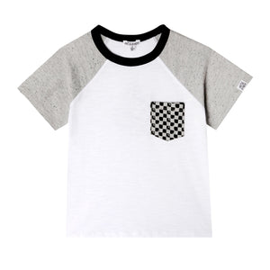 Mini Caleb T-shirt - Organic Baby Boy Clothes