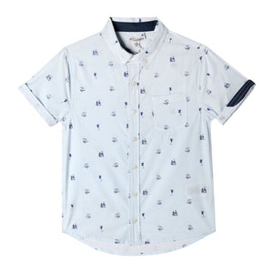 Mini Parker Shirt - Organic Baby Boy Clothes