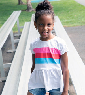 Keya Tee - Organic Girls Tops & T-Shirts