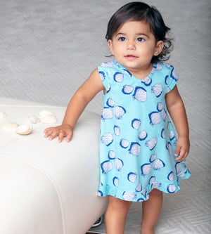 Mini Vivian Dress - Organic Baby Girl Clothes