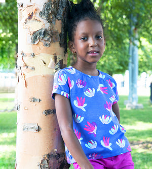 Tory Tee - Organic Girls Clothes