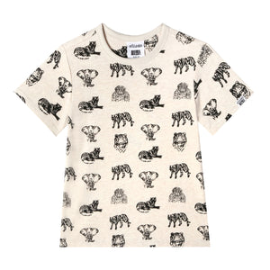 Mini Adam Tshirt - Animal Planet baby boys