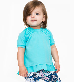 Mini Ellie Tee - Organic Baby Girl Clothes