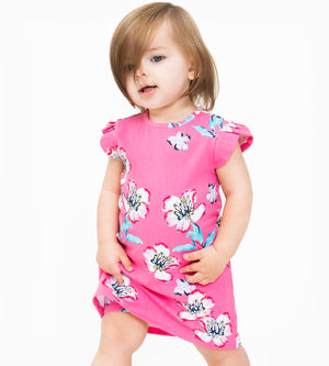 Mini Ivy Dress - Organic Baby Girl Clothes