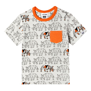 Mini Zane Tshirt - Organic Baby Boy Clothes