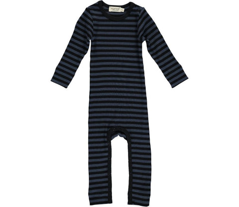 Black and blue stripe onesie | MarMar Copenhagen
