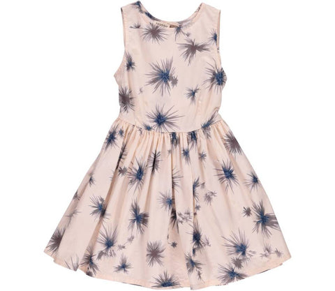 Pink childrens flower dress | MarMar Copenhagen