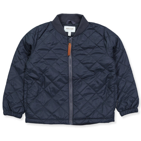 Mini A Ture Benjamin thermo jacket navy blue AW17 | pippa petit