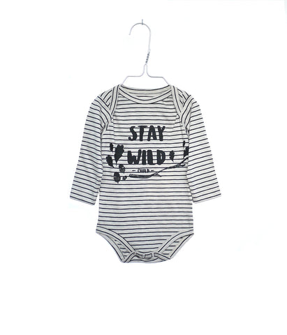 Monsieur Mini onesie stay wild | Pippa Petit