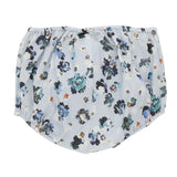 Blue flower print baby bloomers | Christina Rohde