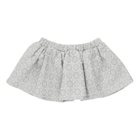 Silver grey baby party skirt | Christina Rohde
