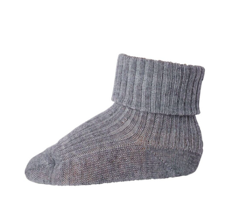 Grey baby sock | MP Denmark